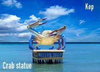 Kep trip-Crab Statue - angkor friendly driver
