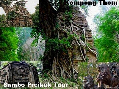 Sambo Preikuk attraction tour-Kompong Thom-angkor frieddly driver
