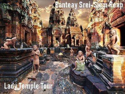 Banteay Srei temple tour-Laday temple tour-Siem Reap-Angkor Friendly Driver
