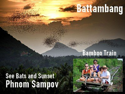 Battambang attraction tours-Trip options pick up from Siem reap