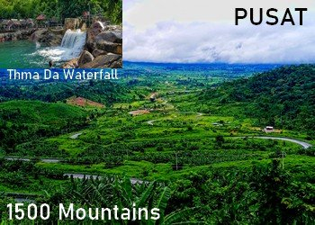 1500 Mountains-Thma Da waterfall-Pusat attractions-tour-Angkor Friendly Driver